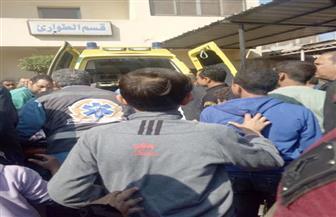 """شاهد أول صور لنقل المصابين وجثث القتلى في """"مذبحة أوسيم"""""""