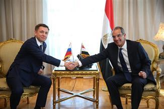 20 شركة روسية تبحث الاستثمار وتكامل الأعمال في مجال الاتصالات بمصر |صور
