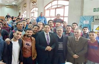 إطلاق مبادرة التوعية الشاملة بالملكية الفكرية بجامعة حلوان| صور