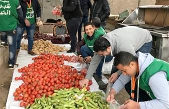 حملة لتوزيع الخضراوات الطازجة مجانا في شبرا الخيمة على الأسر الأكثر احتياجا