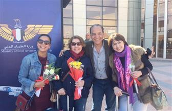 وصول نجوم مهرجان شرم الشيخ للسينما الآسيوية إلى مدينة شرم الشيخ  صور