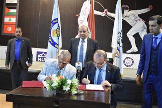 رئيس جامعة بني سويف: بروتوكول تعاون مع الاتحاد المصري للسلاح   صور