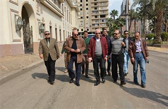 محافظ الجيزة يتفقد أعمال تطوير شارع مصر 306 بالدقي | صور
