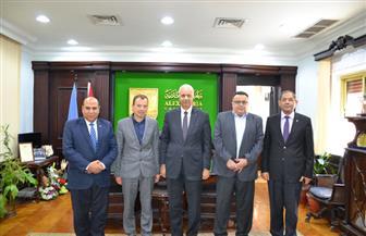 الأمين العام لشبكة المدن اليورومتوسطية يزور جامعة الإسكندرية  صور