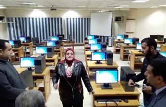 وكيلة التربية والتعليم بكفرالشيخ تتفقد قاعات اختبارات المدرسين الجدد | صور