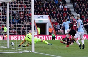 مانشستر سيتي يواصل الانتصارات بعد الفوز على بورنموث بهدف محرز بالدوري الإنجليزي|فيديو
