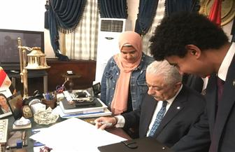 وزير التعليم يعتمد جدول امتحانات الثانوية العامة للعام الدراسي 2019 |صور