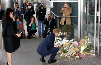 الأمير هاري وقرينته يقدمان العزاء في ضحايا هجوم نيوزيلندا|صور