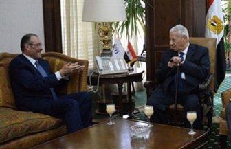 رئيس الأعلى للإعلام خلال استقباله السفير السعودي: علاقة مصر والسعودية تاريخية |صور