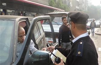 تحرير 775 مخالفة مرورية على الطرق بسوهاج