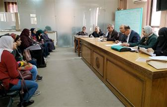 """""""تعليم بورسعيد"""" تجري المقابلة الشخصية لـ 50 من المتقدمين للمسابقة الوزارية لسد العجز"""