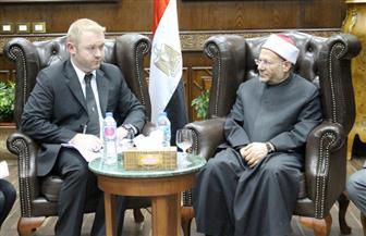 مفتي الجمهورية يستقبل سفير نيوزيلندا بالقاهرة لتقديم واجب العزاء في ضحايا حادث المسجدين| صور