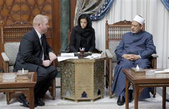خلال لقائه سفيرها بالقاهرة.. الإمام الأكبر يشيد بموقف رئيسة وزراء نيوزيلندا فى حادث المسجدين
