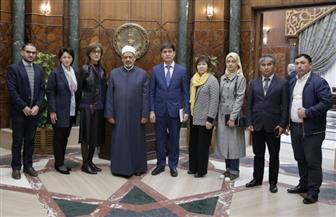 خلال لقاء وفد جامعة الفارابي الكازاخية.. الإمام الأكبر: الأزهر حريص على دعم المؤسسات التعليمية في العالم