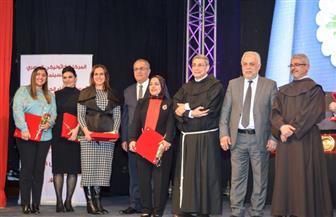 المركز الكاثوليكي للسينما يكرم وزيرة الهجرة في يوم العطاء | صور
