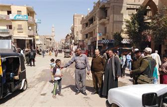 إزالة 48 حالة إشغال بمدينة طامية في الفيوم | صور