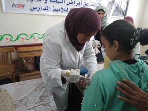 انطلاق حملة الكشف المبكر عن أمراض (السمنة والأنيميا والتقزم) لطلبة المدارس بالشرقية