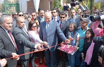 وزراء الشباب والزراعة والتموين في افتتاح معرض الزهور بحديقة الأورمان بالجيزة  صور