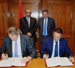 """بروتوكول تعاون بين القابضة المعدنية وشركة """"RCG"""" السويسرية  لتطوير 4 شركات"""