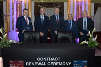 مصر للطيران والبنك التجاري الدولي يجددان اتفاقية شراكة أول بطاقة ائتمانية |صور