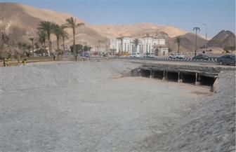 وزير الري: نفذنا 313 منشأ للحماية من السيول في جنوب سيناء تختزن 38 مليون م٣ مياه | صور