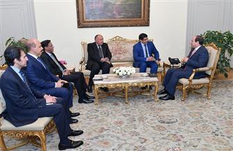 الرئيس السيسي يستقبل المبعوث الشخصي للرئيس الموريتاني | صور