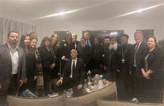 خلال زيارتها لنيوزيلندا.. وزيرة الهجرة تلتقي بأعضاء من الجالية المصرية | صور