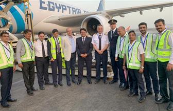 مصر للطيران للشحن الجوى تسير خطا جديدا إلى بومباى بالهند |  صور