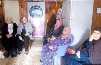 """""""مستقبل وطن"""" يحتفل بعيد الأم فى دار المسنين بكفر الشيخ"""
