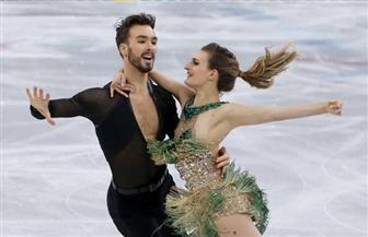 ثنائي فرنسي يتوج ببطولة العالم للتزلج الإيقاعي