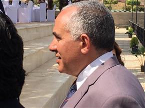 وزير الري يصل مقر الاحتفال باليوم العالمي للمياه بالقناطر الخيرية | صور