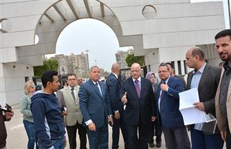 محافظ القاهرة يتفقد أعمال تطوير الشوارع المحيطة باستادي القاهرة والإنتاج الحربي   صور