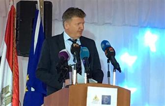 """سفير الاتحاد الأوروبي: """"النيل حياة المصريين"""""""