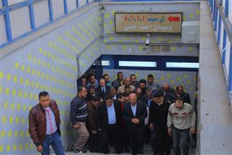 وزير النقل: يجب استغلال المحلات المغلقة بمول محطة مصر وإجراء عمرات للجرارات  بالورش