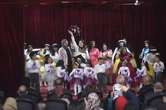 التضامن تحتفل بعيد الأم بمؤسسة التثقيف الفكري بمصر القديمة |صور
