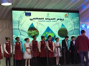 وزير الري يشهد عرضا لكورال أطفال الأوبرا احتفالا باليوم العالمي للمياه|صور