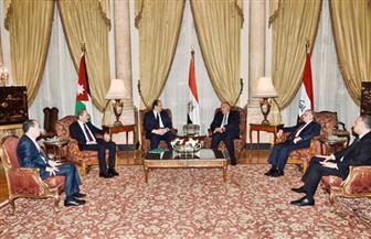بدء الاجتماع السداسي لوزراء خارجية ورؤساء مخابرات مصر والأردن والعراق