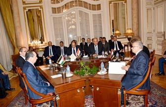 """""""الوزراء"""" يكشف تفاصيل اجتماع وزراء خارجية ورؤساء مخابرات مصر والأردن والعراق"""