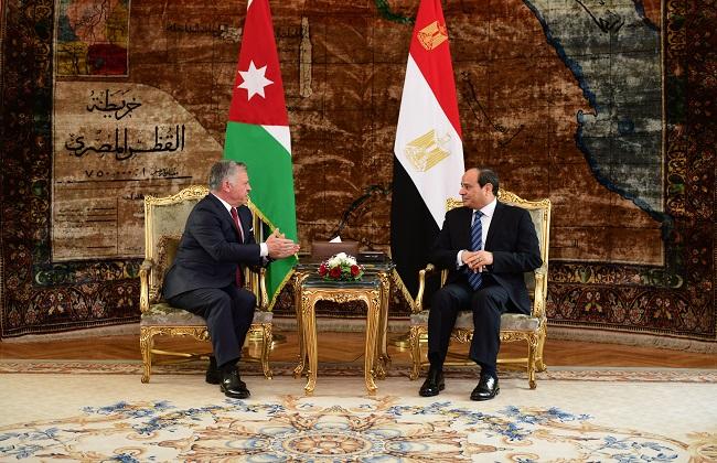 الرئيس السيسي يؤكد الحرص على استمرار التنسيق والتشاور بين مصر والأردن   صور -