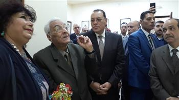 وزيرة الثقافة تفتتح قصر ثقافة بلبيس | صور