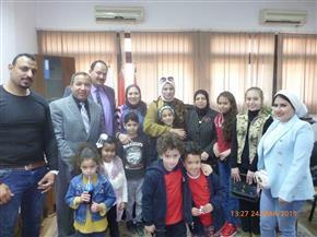 علوم بورسعيد تنظم رحلة ترفيهية وتعليمية لأبناء الشهداء