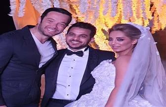 أول صور من حفل زفاف محمد رشاد ومي حلمي