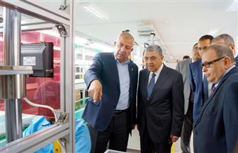 وزير الكهرباء يتفقد الشركة الرائدة في صناعة العدادات بـ6 أكتوبر| صور