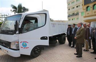 بتكلفة 4.5 مليون جنيه.. دعم منظومة النظافة في كفرالشيخ  بـ 10 سيارات جديدة لتوزيعها على القرى | صور