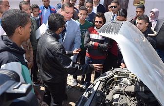 """120 متدربا يجتازون البرنامج التأهيلي لمبادرة """"صنايعية مصر"""" بجامعة سوهاج"""