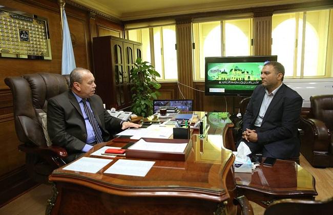 محافظ كفرالشيخ: المصرية للاتصالات شركة من شركات الدولة ولا استثناءات في التعامل معها   صور -