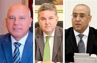 وزراء الإسكان وقطاع الأعمال والنقل يعقدون اجتماعا لمتابعة مشروع تطوير محور المحمودية