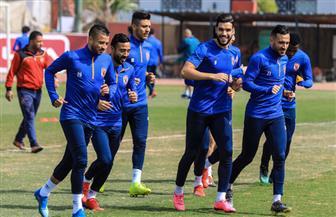لاعبو الأهلي الدوليون ينتظمون في مران الفريق استعدادا للقمة