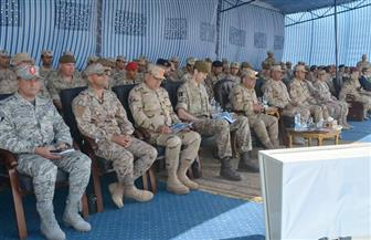 """في ختام """"أحمس 1"""".. القوات المصرية والبريطانية تنفذان عملية مشتركة للقضاء على بؤرة إرهابية"""