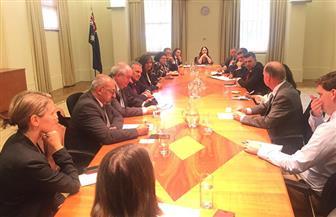 وزيرة الهجرة تجتمع بنظيريها اليوناني والقبرصي مع جمعية الصداقة بالبرلمان الفيدرالي في أستراليا |صور